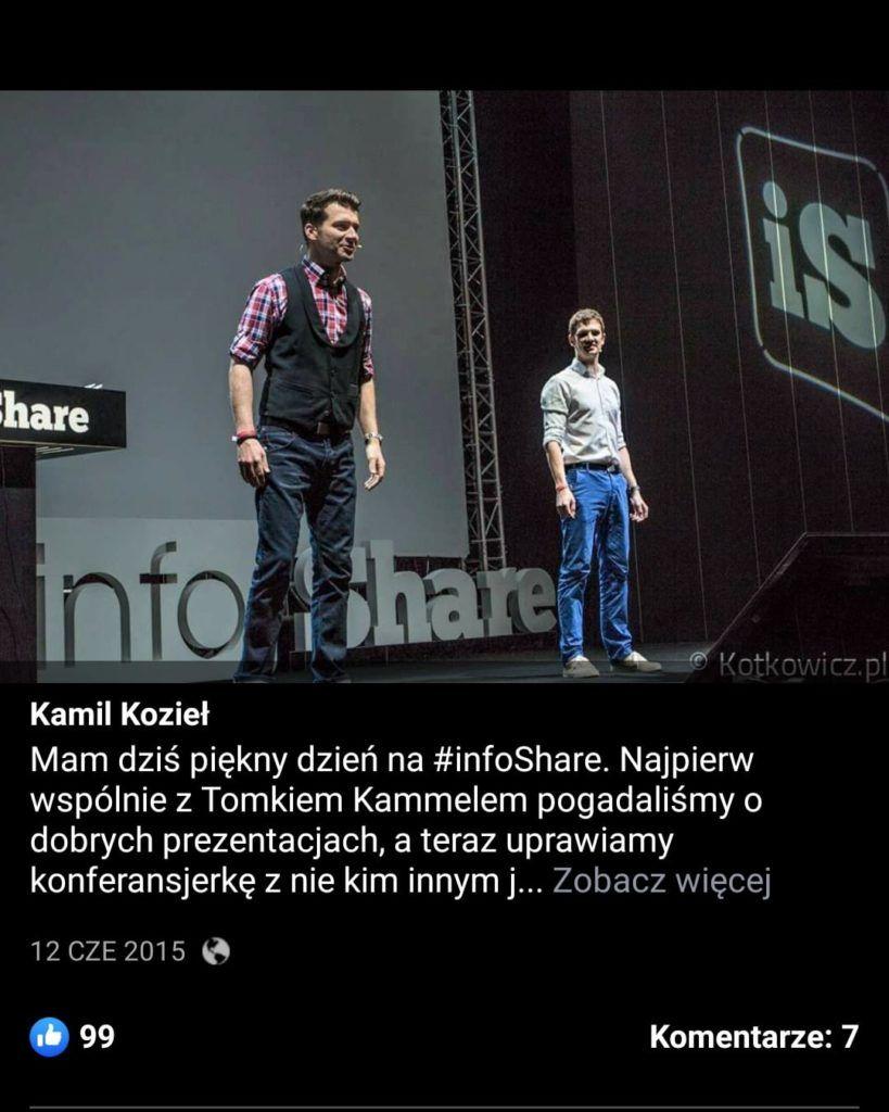 Kamel i Kozieł na infoShare 2015